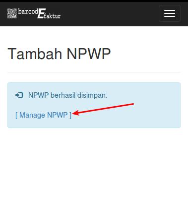 NPWP Save