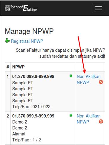 NPWP_NonAktifkan